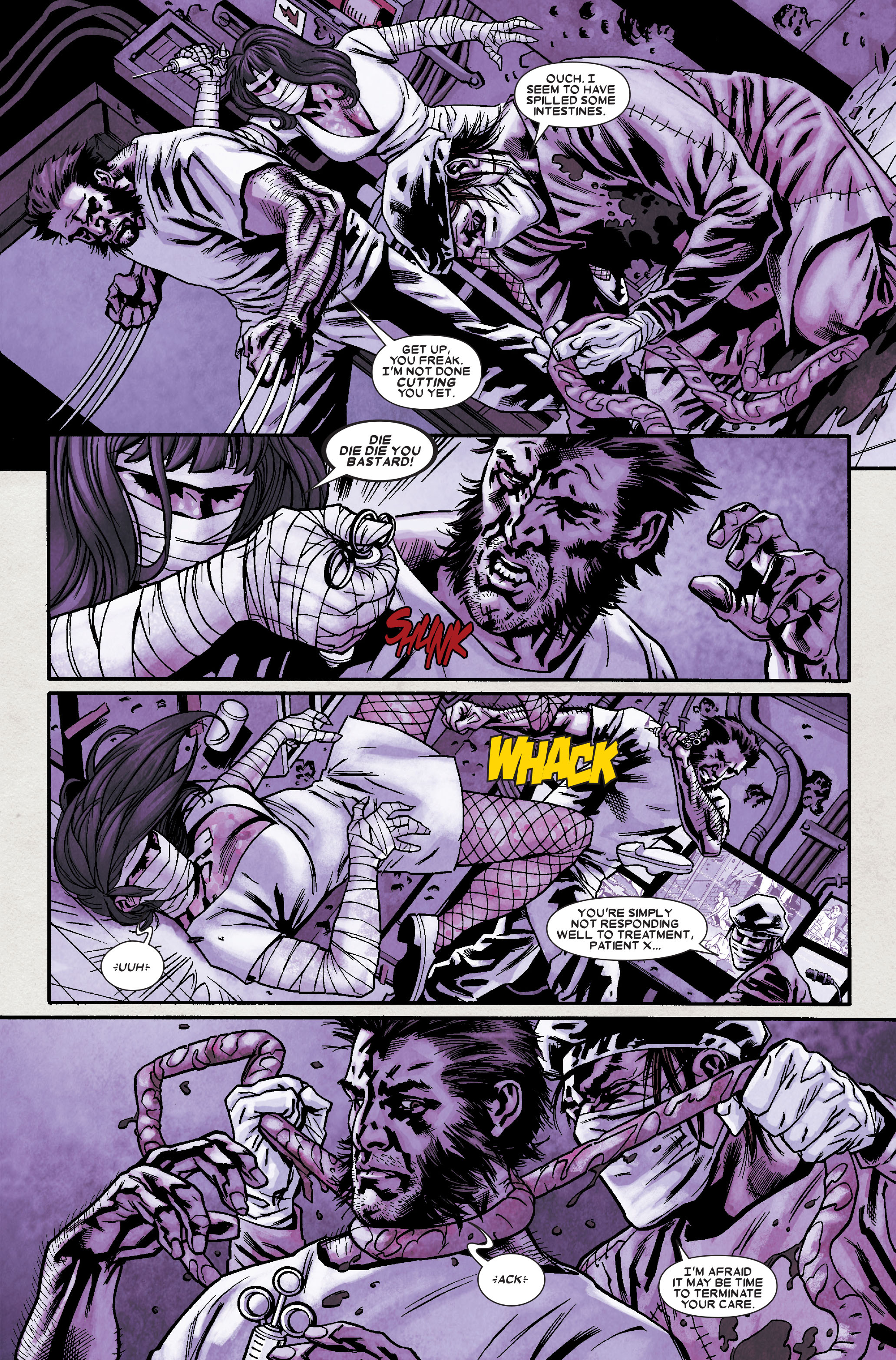 Read online Wolverine: Weapon X comic -  Issue #9 - 14