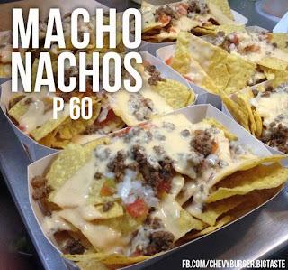 Macho Nachos: Chevy Burger