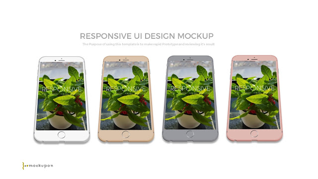 Easy Customization of Powerpoint Responsive Showcase Device Mock-up Templates