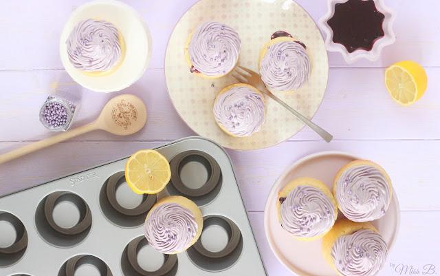Blueberry Cake Cups: Gefüllte Blaubeertörtchen mit STÄDTER