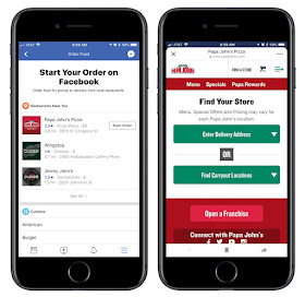 Check out : How To order food directly from Facebook