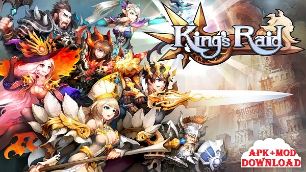 Download King Raid MOD APK Android Game