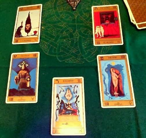 Tirada de 5 cartas