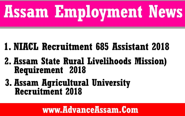Assam Employment News