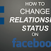 Changing Relationship Status On Facebook