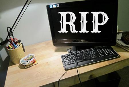PC Sering Mati Tiba - Tiba