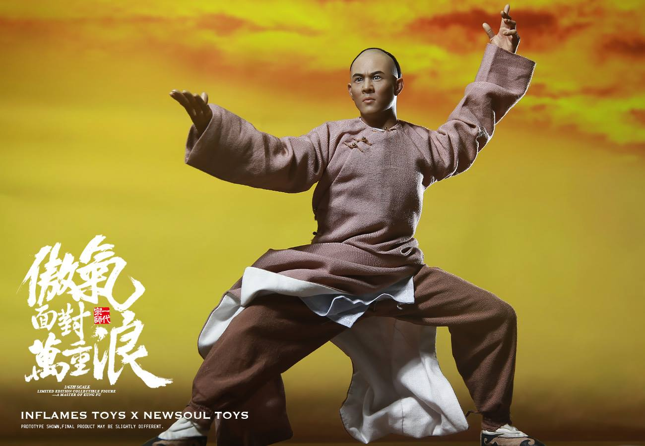 1//6th A Master of Kung Fu Collectible Action Figure Deluxe Ver INFLAMES TOYS