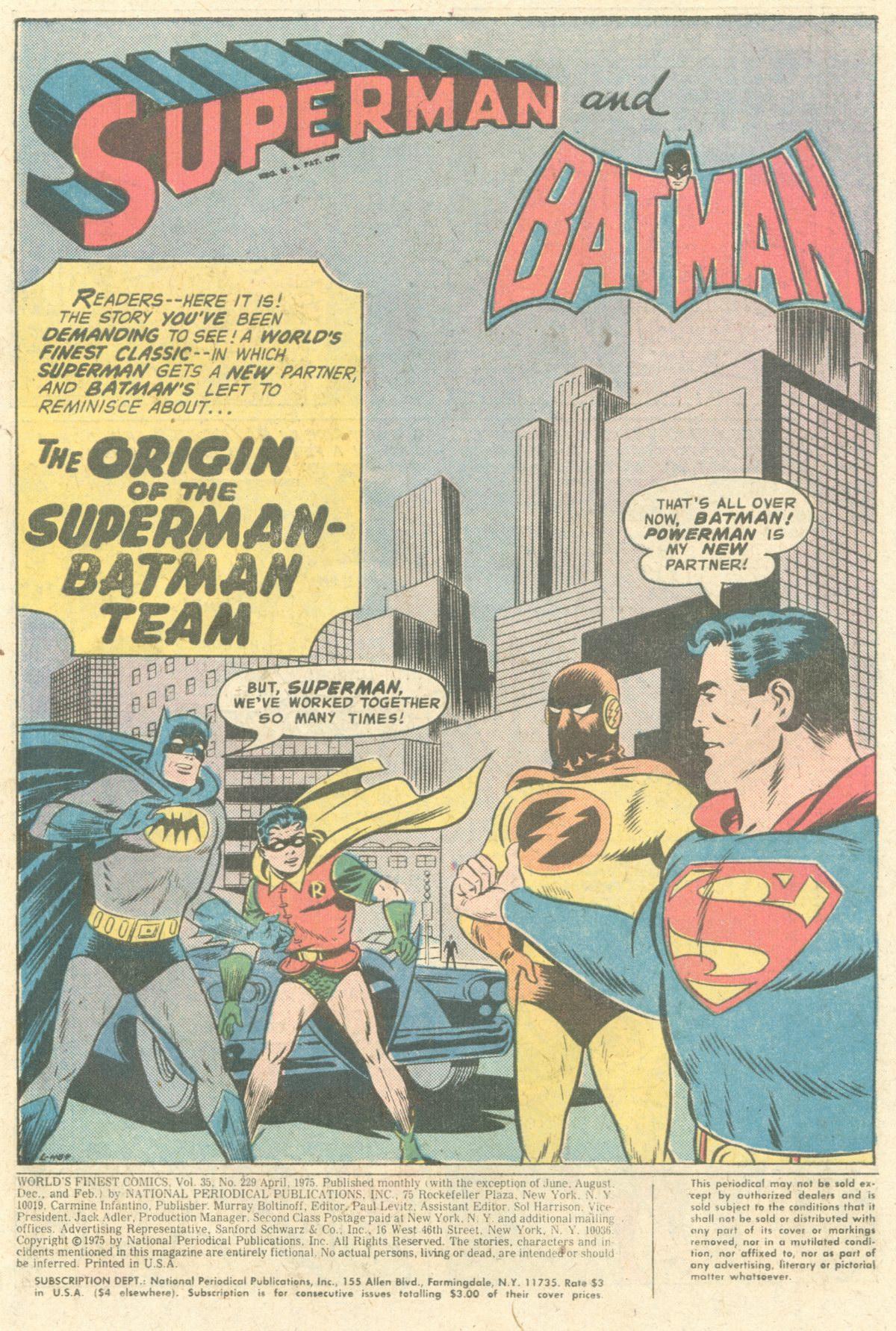 Read online World's Finest Comics comic -  Issue #229 - 3