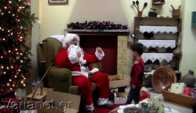 Γιορτή Χριστουγέννων στην Εύξεινο Λέσχη Βέροιας (Video)