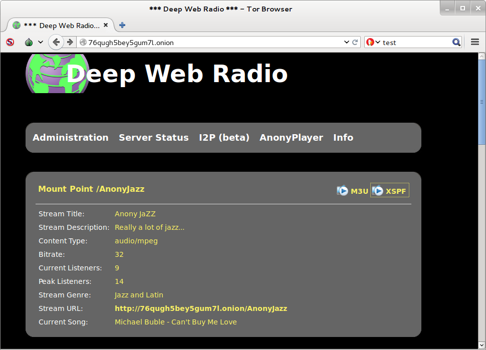 Site de streaming na Deep Web