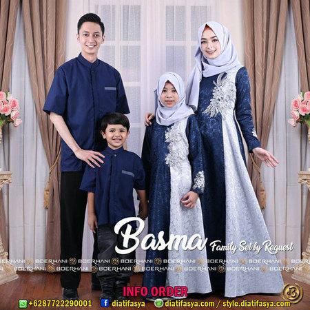 Model Baju Lebaran 2018 Keluarga Galeri Batik Terbaru