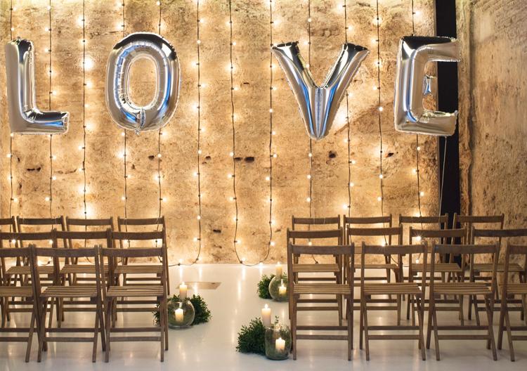 5 ideas para decorar con globos el blog de blanqui for Letras gigantes para bodas baratas