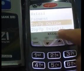 Cara Top Up Deposit BRIZZI BRI Melaui EDC