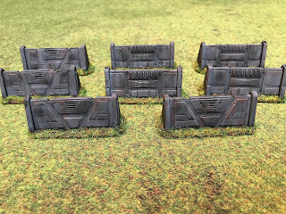Barricades from the Star Wars Legion core box