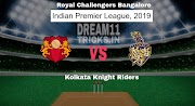 RCB VS KKR DREAM11 TRICKS PREDICTION IPL 2019 SMALL LEAGUE TEAMS, PLAYING 11