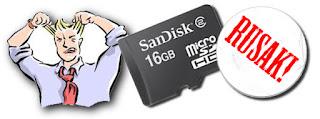 Mengatasi SD Card Tidak Terdeteksi Pada Android