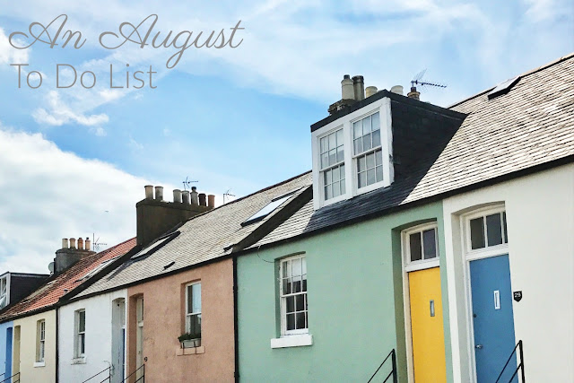 An August To Do List - The Likely Lady