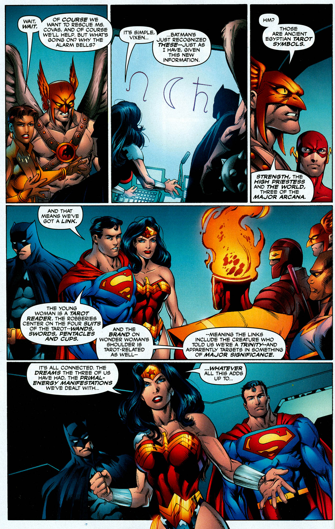 Read online Trinity (2008) comic -  Issue #7 - 15