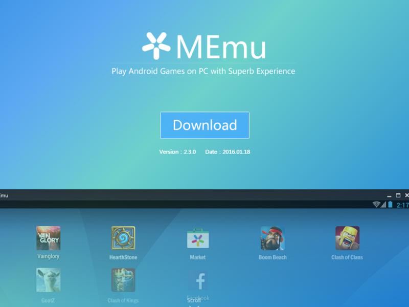 برنامج (MEmu) الجديد لتشغيل تطبيقات وألعاب الأندرويد على حاسوبك حجم صغير 2016