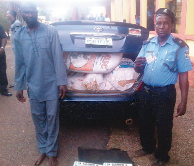 police indian hemp sagamu ogun state