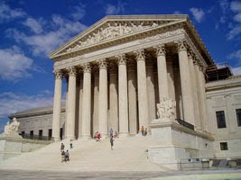 Photo of U.S. Supreme Court building