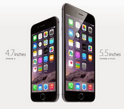 Beda iPhone 6 dan iPhone 6 Plus