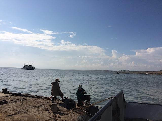 Fischerhafen von Berdjansk. Ukraine, Krieg Russland, Krim. Fot. Paul Flückiger