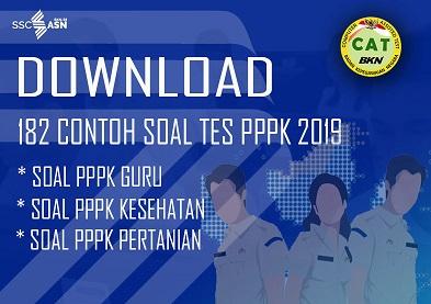 Download Soal Tes Pppk Guru Dan Honorer Lainnya Tahun 2019 Pdf Sd Negeri Dabung 2
