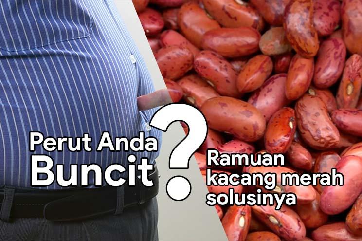 Solusi Perut Buncit Dengan Ramuan Kacang Merah