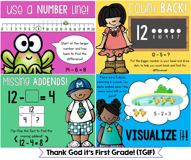http://www.teacherspayteachers.com/Product/Whats-The-Difference-A-Common-Core-Subtraction-Unit-for-1st-Grade-998278