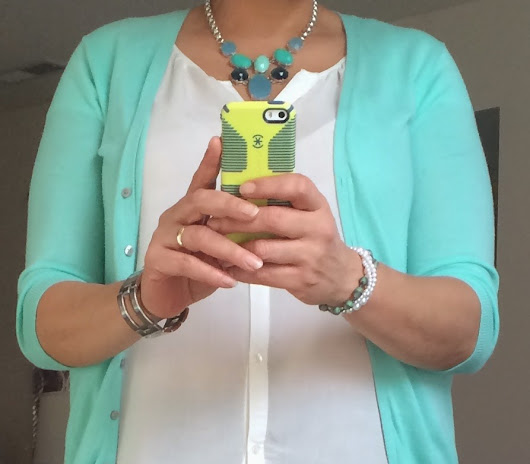 Recent Outfit - Spring Colors!