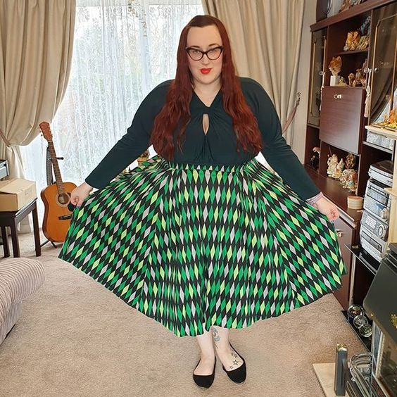 Pin Up Couture House Harlequin