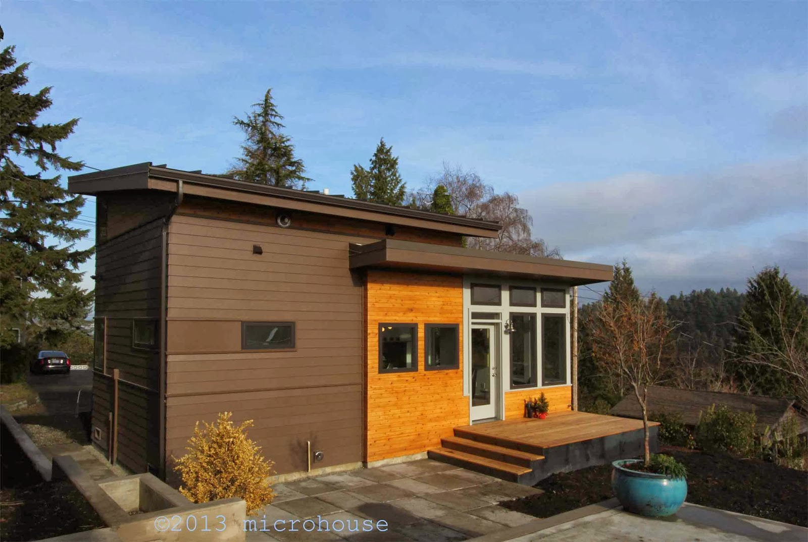 backyard cottage blog: a backyard cottage with a view