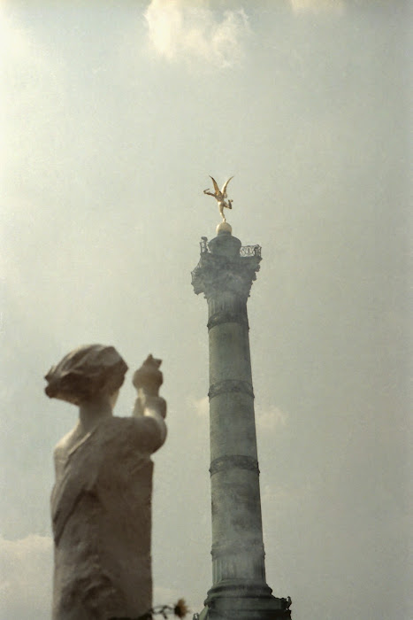 Pékin, Beijing, Paris, Bastille, Tian Anmen, © L. Gigout, 1989