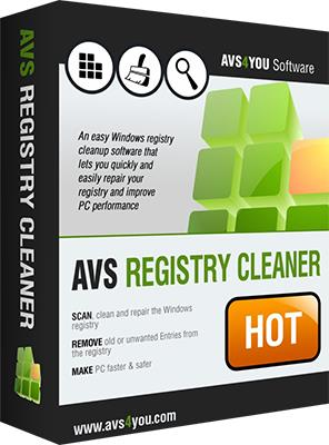 AVS Registry Cleaner 3.0.4.274