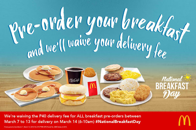 #NationalBreakfastDay - Free McDo McMuffin