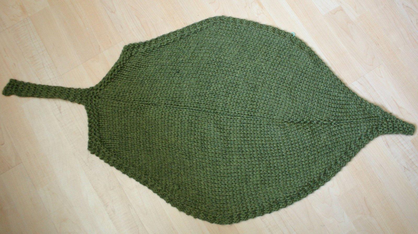 d8d641e383b5 LavenderSheep s Fiber Garden Blog  Leaf Blanket