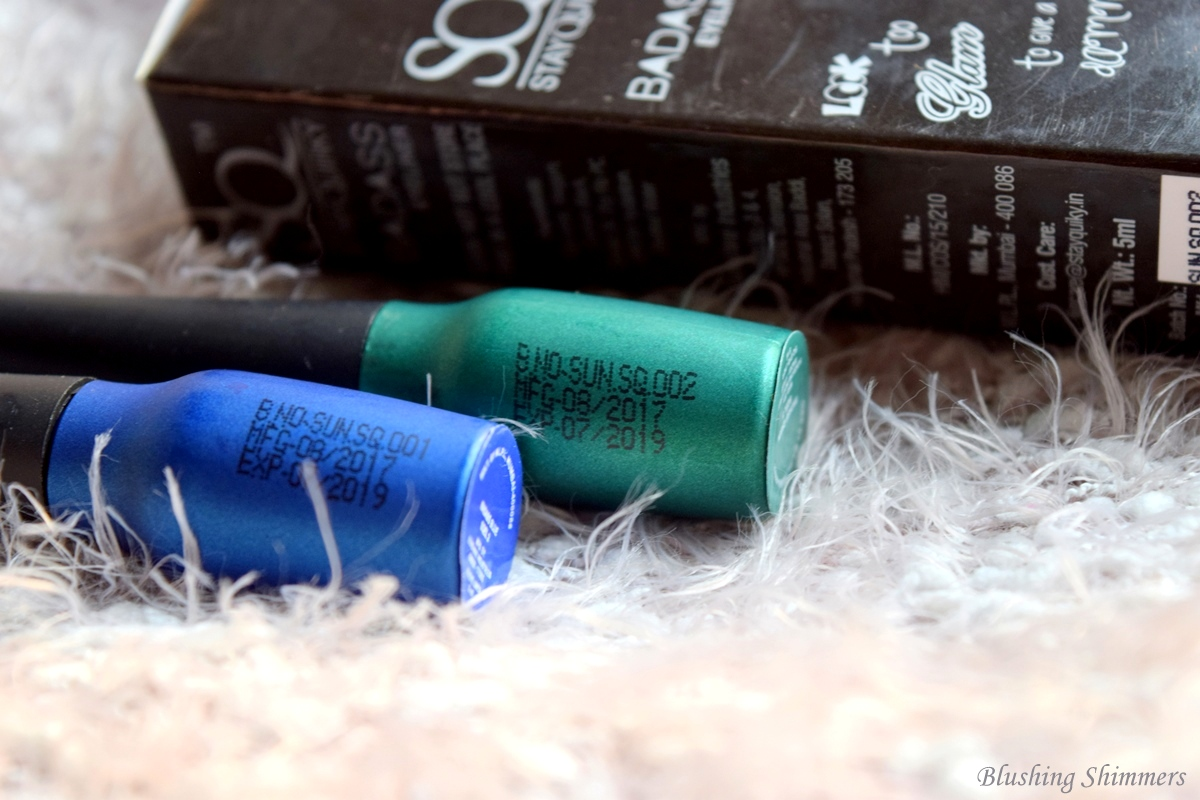 Stay Quirky Badass Eyeliner - Blue,Green