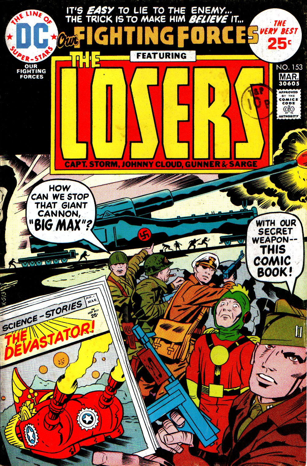 Our Fighting Forces (1954) issue 153 - Page 1