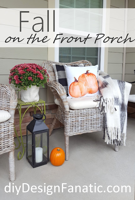 Fall, fall porch, cottage, cottage style, farmhouse, farmhouse style, Ikea, Craftberrybush,