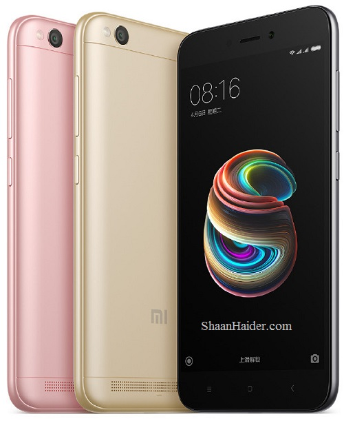Xiaomi Redmi 5A : Full Hardware Specs, Features, Prices and Availability