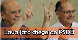 A Lava Jato chega ao PSDB