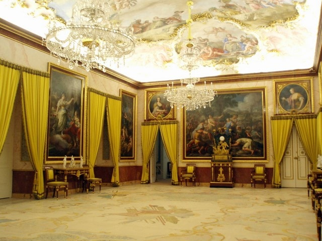 Antecámara del Música, Palacio Real de Aranjuez