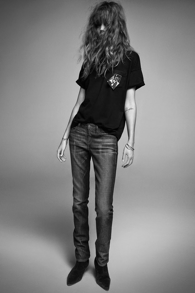 Frame Denim collaborates with Inez and Vinoodh on a capsule collection for 2014