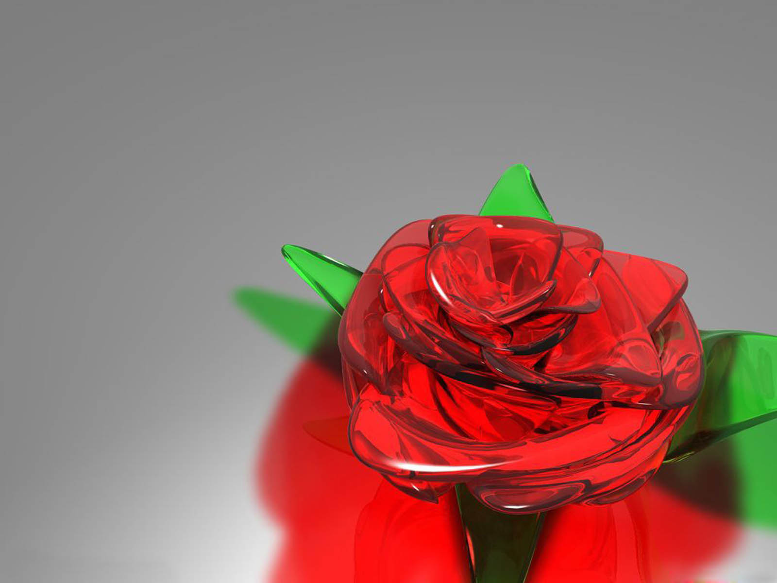 wallpapers: Glass Rose Wallpapers