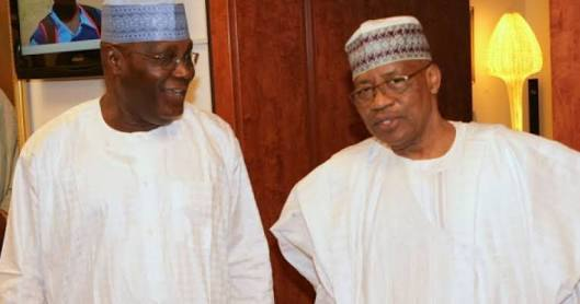 Atiku Visits Babangida In His Minna Mansion