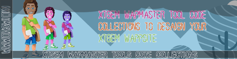 Xtgem Wapmaster Tools Code Collection - Howi In