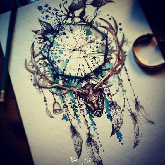 Popular Dreamcatcher Tattoos For Women