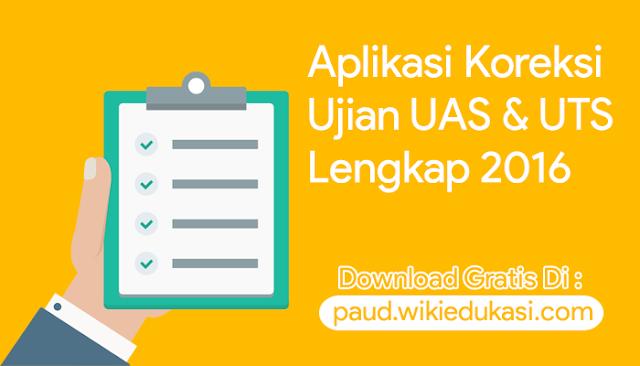 Download Aplikasi Koreksi UAS & UTS Otomatis Format Excel Lengkap Terbaru