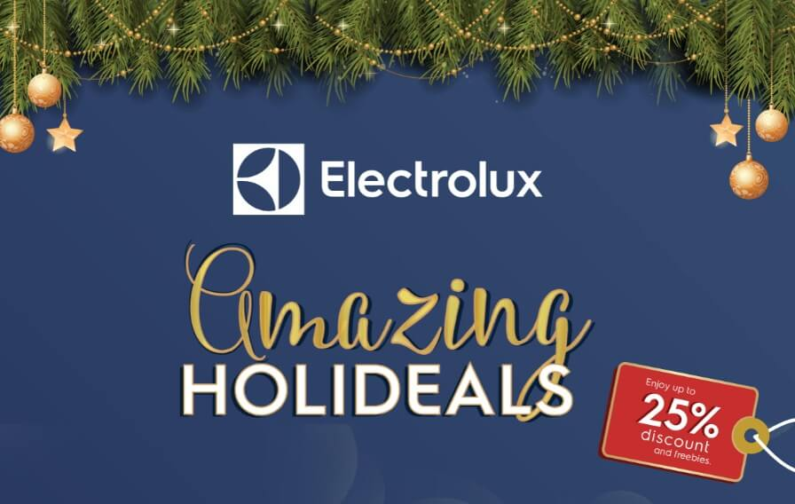 Score New Appliances at 25% Off with Electrolux Amazing Holideals Promo